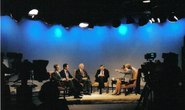 Episodes of the China Forum are recorded locally at George Washington University and WNVC Studios.