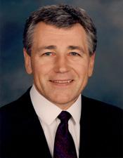 Senator Chuck Hagel (R-NE)