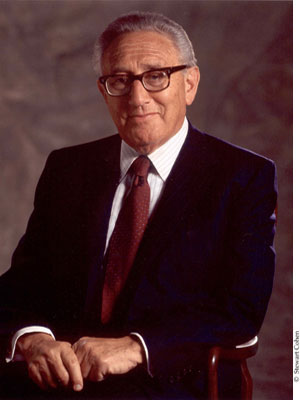 The Honorable Henry A. Kissinger